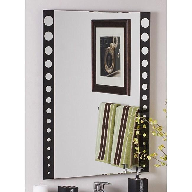 Santa Clara Frameless Wall Mirror