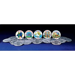 American Coin Treasures 2001 Colorized Statehood Quarters