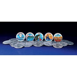 American Coin Treasures 2007 Colorized Statehood Quarters