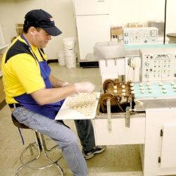 Bidwell Candies 2-pound Chocolate Mint Creams Gift Box