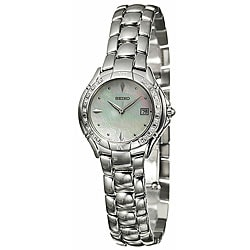 Seiko Women's Diamond Stainless Steel Case Watch