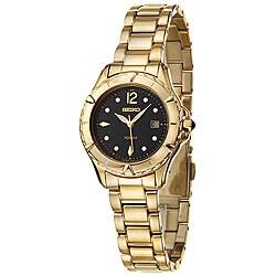 Seiko Women's Goldplated Steel Quartz Dress Watch