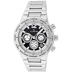 Le Chateau Cautiva Men's All Steel Chronograph Watch
