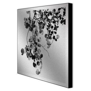 Michael Joseph 'Bougainvillea' Framed Metal Art