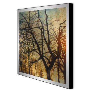 Sara Abbott 'Nightfall I' Framed Metal Artwork