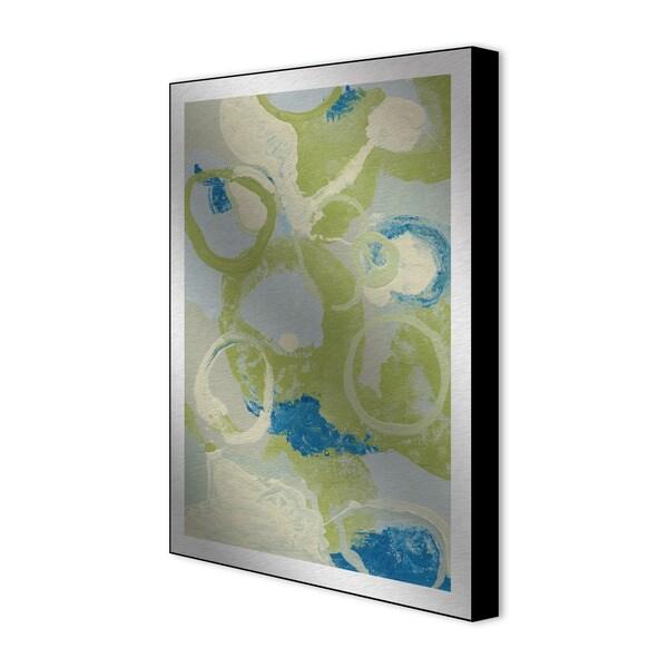 Gallery Direct Leslie Saris 'Emerging Impression IV' Framed Metal Art