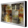 Sara Abbott 'Urbane I' Framed Artwork on Metal