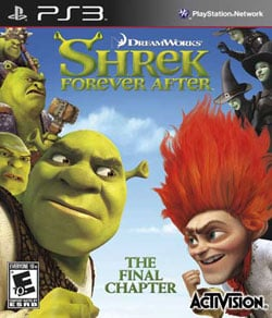 PS3 - Shrek Forever After