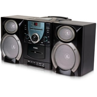 Coby CX-CD400 Mini Hi-Fi System - Black