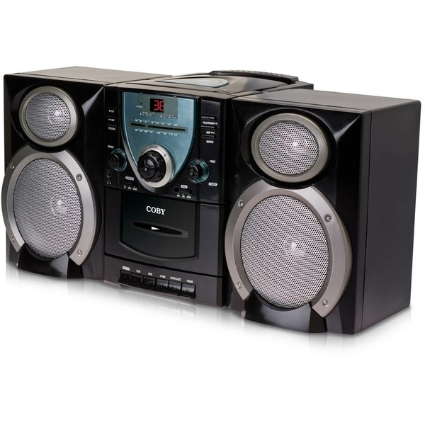 Coby CX-CD400 Mini Hi-Fi System - Black