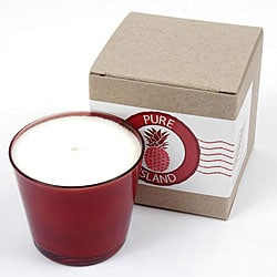 Pure Island Hawaiian Plumeria Candle