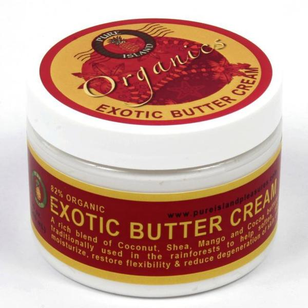 Pure Island Organic 'Exotic' 6-ounce Body Butter Cream