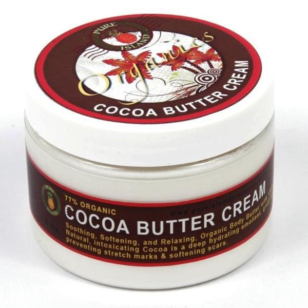 Pure Island Organic 'Cocoa' 10-ounce Body Butter Cream (Pack of 3)