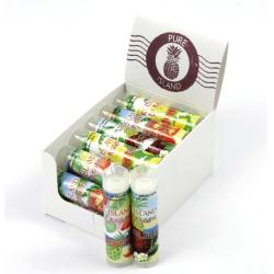 Pure Island Assorted Lip Balm Display Set (Pack of 18)