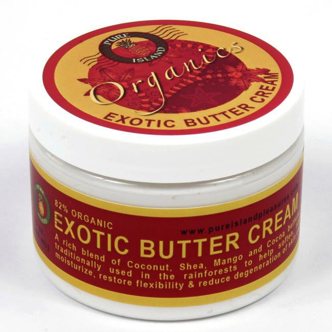 Pure Island 10-ounce Exotic Body Butter Creams (Set of 3)