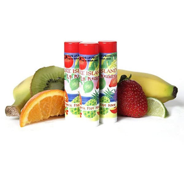 Pure Island Guava Berry Lip Balm (Pack of 3)