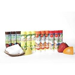 Pure Island Assorted Lip Balms (Pack of 12)