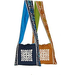 Cutwork Applique Fair Trade Shoulder Bag (India)