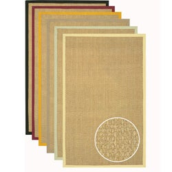Hand-woven Glam Seagrass Rug (2'6 x 8')