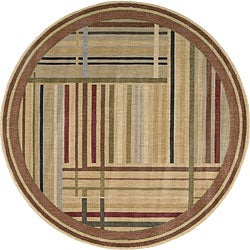 Nourison Summerfield Multicolor Rug (5'6 x 5'6) Round