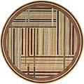 Nourison Summerfield Multicolor Rug (5'6 x 5'6) Round