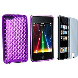 TPU Case and Screen Guard for iPod Touch Gen 2/ 3
