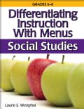 Differentiating Instruction With Menus: Social Studies (Paperback)