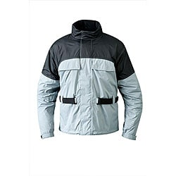 Mossi Men's RX 1 Silver Rain Jacket