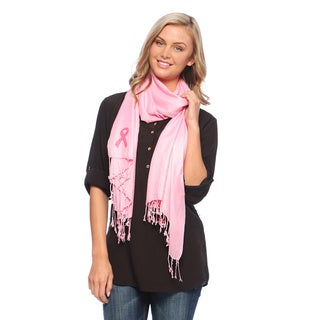 Symphony Designs Breast Cancer Awareness Shawl (Set of 2)
