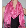 Symphony Designs Breast Cancer Awareness Pashmina Shawl (Set of 2)