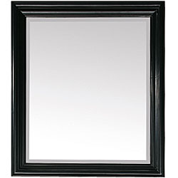 Avanity Milano 30-inch Mirror in Black Finish