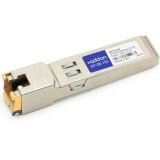 AddOn HP J8177C Compatible 1000Base-TX SFP Transceiver (Copper, 100m,