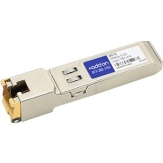AddOn MSA Compliant 1000Base-TX SFP Transceiver (Copper, 100m, RJ-45,