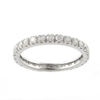 Beverly Hills Charm 14k Gold 1ct TDW Diamond Wedding Eternity Band (H-I, I2-I3)