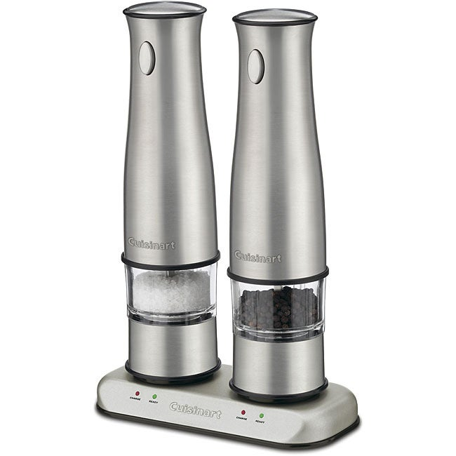 Cuisinart SP-2 Stainless Steel Rechargeable Salt and Pepper Mills