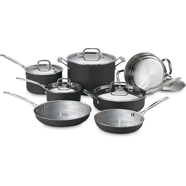 Cuisinart MCU-12 Multiclad 12-piece Cookware Set
