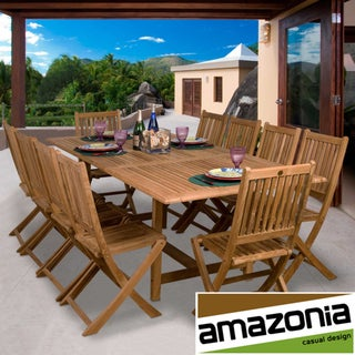 Toulouse 11-piece Teak Dining Set
