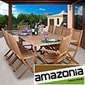 Toulon 11-piece Teak Dining Set