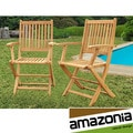 Terra Teak Dining Armchairs (Set of 2)