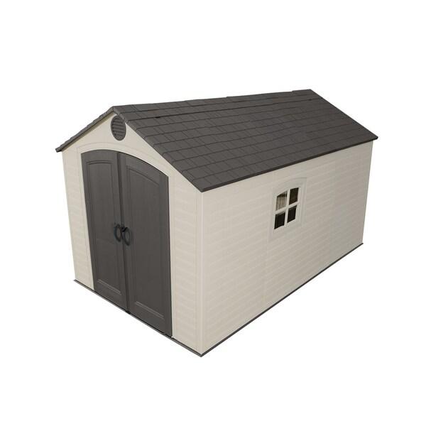 Lifetime Storage Shed (8' x 12.5')