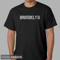 Los Angeles Pop Art Men's 'Brooklyn' T-shirt