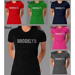 Los Angeles Pop Art Women's 'Brooklyn' T-shirt