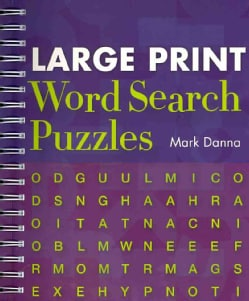 Large Print Word Search Puzzles (Paperback)