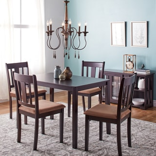 wood dining sets overstock shopping table chairs