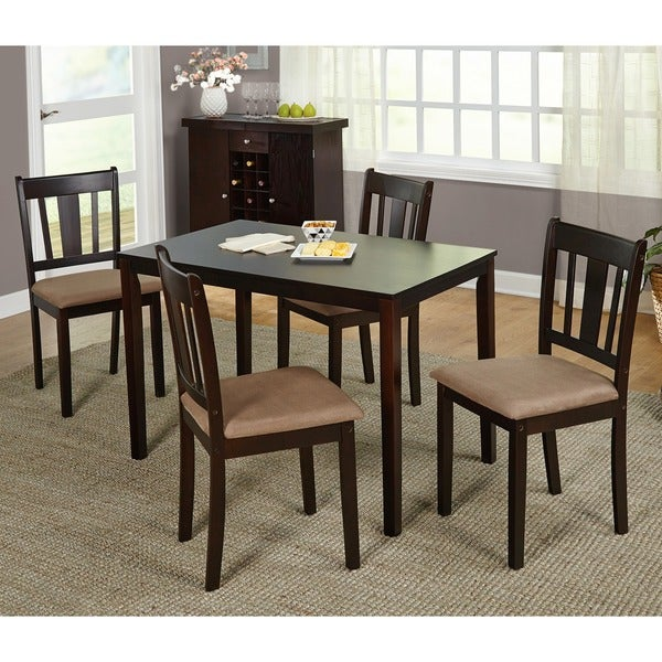 Simple Living Stratton 5 Piece Dining Set Overstock Shopping Big Discounts On Simple Living