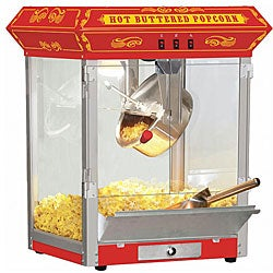 Carnival Style 8-oz Hot Oil Popcorn Machine