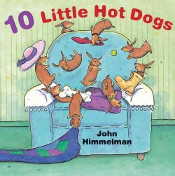 10 Little Hot Dogs (Hardcover)