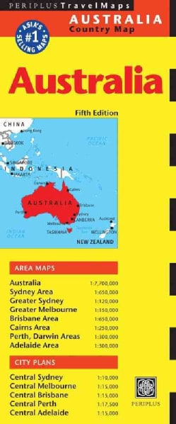 Periplus Travel Maps Australia (Sheet map, folded)