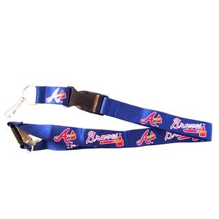 MLB Atlanta Braves Keychain Lanyard