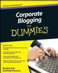 Corporate Blogging for Dummies (Paperback)